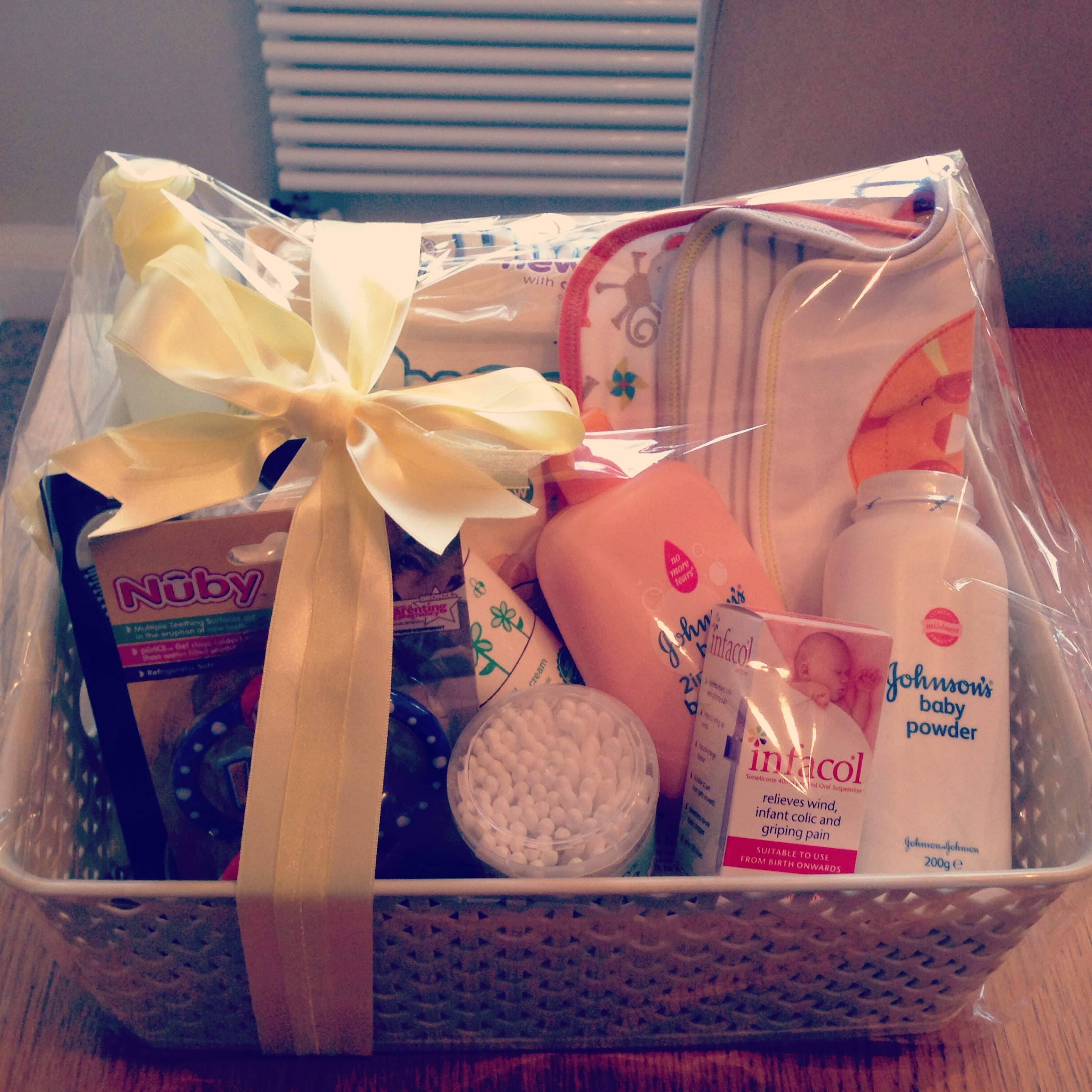 Baby Boy Gifts South Africa : Baby shower hamper a white writes